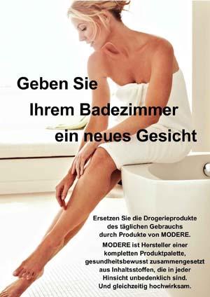 Flyer Modere - Geben Sie Ihrem Badezimmer ein neues Gesicht