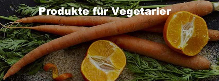 Produkte für Vegetarier