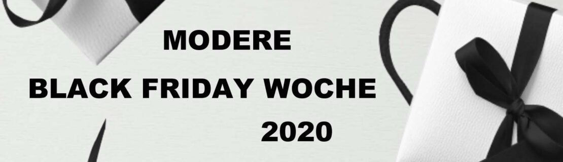 MODERE Black Friday Woche 2020